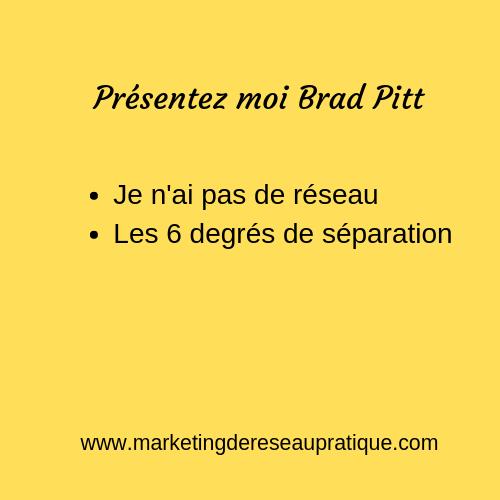Présentez moi Brad Pitt